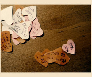 hearts, Paper, and quotes image