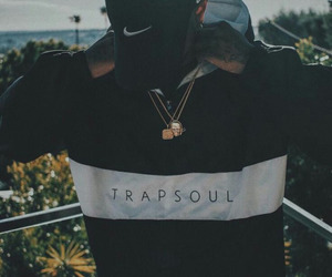 bryson tiller, nike, and trapsoul image