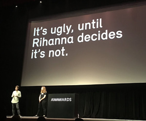 rihanna and quote image