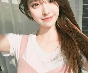 cute, asian girl, and beautiful image