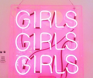 pink and girls image