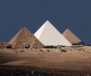 pyramid, egypt, and theme image