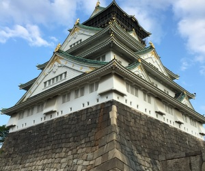 asia, castle, and japan image