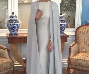 fashion, dress, and abaya image