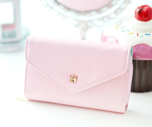fashion, pink, and purse image