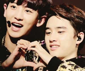 chanyeol, chansoo, and exo image