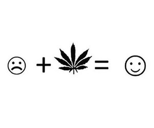 weed canabis smile image