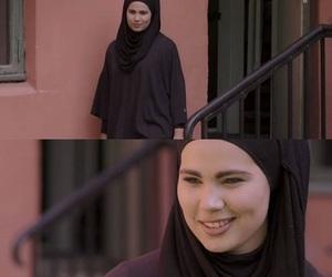 girl, hijab, and skam image