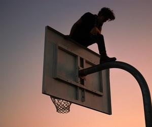 boy, aesthetic, and Basketball image