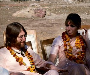 1968, couple, and india image