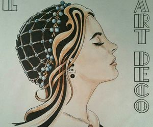 drawing, lana del rey, and fan art image