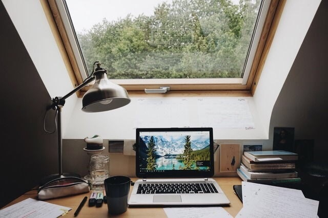 aesthetic, desk, and hipster image