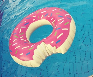 cool, doughnut, and food image