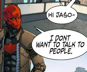 jason todd, red hood, and DC image