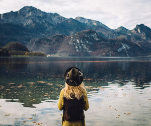 nature, photography, and girl image