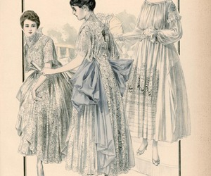 1910s, antique, and fashion image