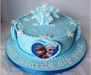 frozen birthday cake, frozen cakes pictures, and best frozen cake ideas image