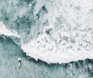 ocean, summer, and waves image