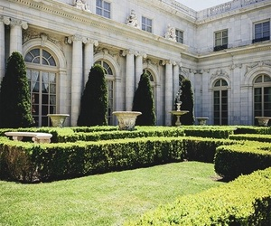 garden, architecture, and luxury image