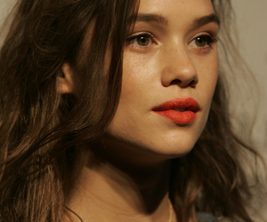 astrid bergès-frisbey and red lips image