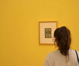 yellow, aesthetic, and art image