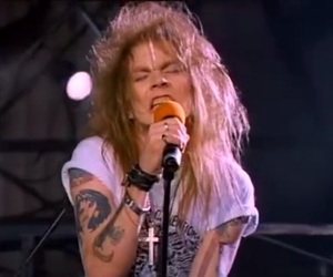 80's, 80s, and axl rose image
