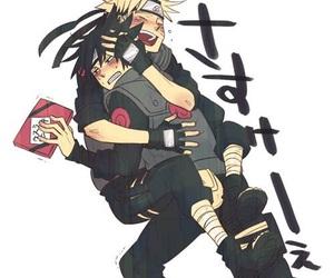 naruto, sasuke, and sasunaru image