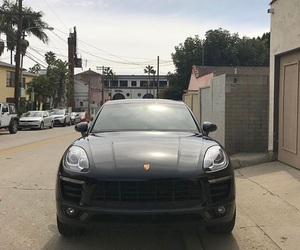 black, cars, and los angeles image
