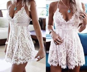 beach, boho, and fashion image