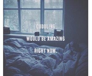 cuddling and love image