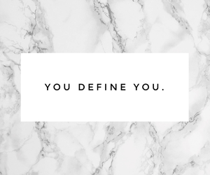 only you, define you, and love yourself image