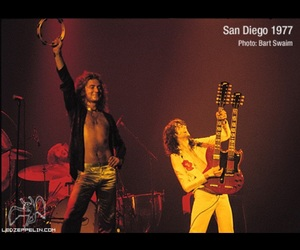 1977, jimmy page, and led zeppelin image