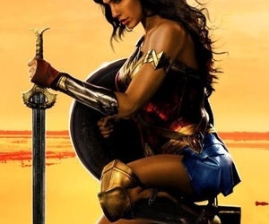wonder woman, DC, and wallpaper image