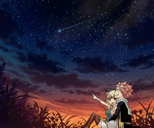 gazing, Lucy, and star image