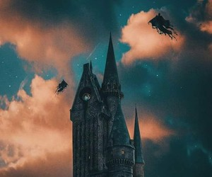 harry potter, dementores, and howarts image