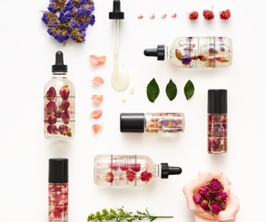 fashion, makeup, and petals image
