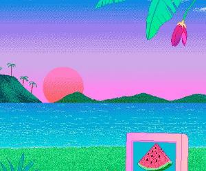 kawaii, art, and pixel image
