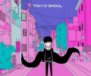 art, pixel, and tokyo ghoul image