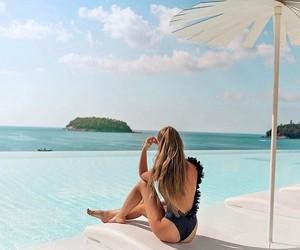 luxury fashion, summer, and sun image