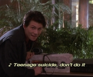 Heathers, suicide, and quotes image