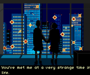 art, pixel, and city image