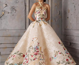 gown, dress, and fashion image