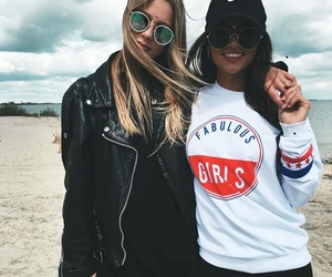 cool, friends, and fashion image