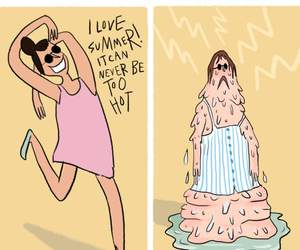 summer and relatable image