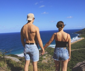 travel, travel couple, and lové image