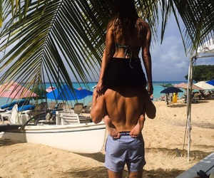 couple, barbados, and couple goals image