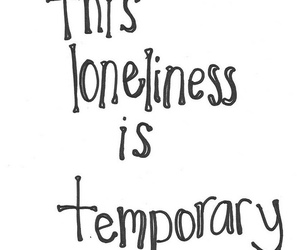 quote, loneliness, and text image