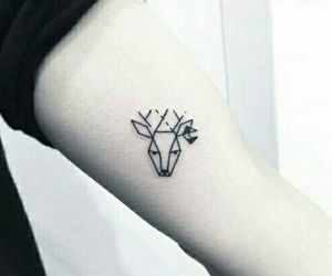 deer and tatoo image