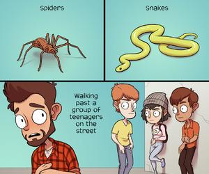 Adult, adulthood, and comedy image
