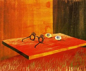 1938, eyes, and glasses image